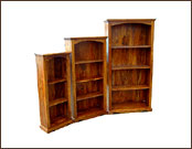 4 Shelves Wooden Display Shelving Unit