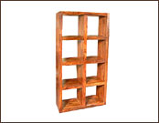 8 Hole Cube Wooden Display Shelving Unit